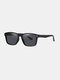 Unisex Wide Frame Outdoor Vintage Driving UV Protection Polarized Sunglasses - #01