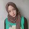 Women Solid Color Muslim Scarf Hijab Chiffon Long Scarf - #04