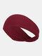 Unisex Sport Cycling Sweat Absorption Seamless Breathable Headband Headscarf - Wine Red