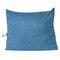 <US Instock>バックボルスター三角ウェッジ読書枕Soft電話ポケットと取り外し可能なカバー付きヘッドボードデイベッドクッション - ロイヤルブルー