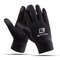 Men Touch Screen Windproof Warm Velvet Full-finger Gloves Fitness Tactical Skiing Driving Gloves - Black