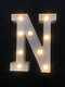 LED English Letter And Symbol Pattern Night Light Home Room Proposal Decor Creative Modeling Lights For Bedroom Birthday Party - #14