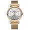Elegant Design Mesh Steel Women Wristwatch Crystal Ladies Quartz Watch - 05