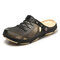 Men Hollow Out Round Toe Slip On Casaul Water Beach Sandals