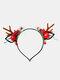 12 Pcs Accessoires De Cheveux De Noël Enfants Oreilles De Chat Mignon Bandeau De Coiffure Elk - #08