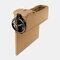Boîte de rangement pour siège de voiture Boîte de rangement pour pièces de monnaie en cuir multifonction - Beige