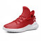 Men Sports Comfy Non Slip Soft Casual Running Shoes - Red