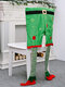 1Pc Christmas Chair Covers Santa Claus Hat Christmas Dinner Chair Back Covers Table Party Decor - #02