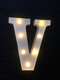 LED English Letter And Symbol Pattern Night Light Home Room Proposal Decor Creative Modeling Lights For Bedroom Birthday Party - #22