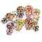 25/30mm 50Pcs Two Holes Skull Head Shaped Cartoon Wooden Sewing Buttons Decoration DIY Materials - #2