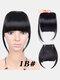Air Bangs Wig Piece Chemical Fiber No-Trace Seamless Bangs Hair Extensions - #01