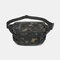 Men Oxford Multi-carry Anti-theft Multi-pocket Waterproof Casual Crossbody Bag Chest Bag Sling Bag - Camouflage