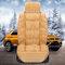 Juego de fundas de asiento de felpa de tamaño universal Coche para 5 asientos Coche Soft Cojín Coche Asiento trasero delantero
