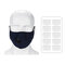 Washable PM2.5 Face Mask Particulate Respirator Anti-Dust Particulate Respirator Filter Mask - 3