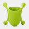 Wall Vase Decal Pot Green Dill Hydroponic Home Indoor Plant Container - Green
