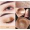 Beezan Baked Glitter Paleta de sombras de ojos Naked Waterproof Mineral Shimmer Metálico Eye Shadow Powder - # 08