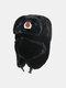 男性と女性の防寒冬用トラッパーハットマスクトラッパーハット付きの厚い冬用ハット耳栓 - #01