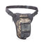 Camouflage Outdoor Pockets Tactical Legbag Waterproof Riding Function Bag