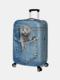 Custodia protettiva per bagagli da viaggio resistente all'usura con stampa gatto - #05