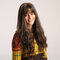26 Zoll-synthetische Perücken-Mode-lange lockige erhitzte beständige chemische Faserperücken für Damen