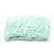 100*120cm Fashion Hand Chunky Wool Knitted Blanket Thick Yarn Merino Wool Bulky Knitting Throw Blankets Chunky Knit Blanket - Green