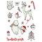 Luminous Tattoo Sticker Festive Party Tattoos Cute Cartoon Christmas Temporary Tattoo Stickers - 06