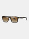 Unisex Wide Frame Outdoor Vintage Driving UV Protection Polarized Sunglasses - #05