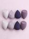 8 Stück Beauty Eggs Set Wet-Dry Dual Purpose Loose Powder Blush Makeup Puff - #01