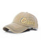 Men Women Adjustable Baseball Hat Golf Embroidery Snapback Hip-hop Sports Cap - Beige