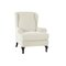 <US Instock>Elastic Fibre Armchair Wingback Recliner Cover Stretch Furniture SlipCover Sofa Protector - White