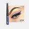 Matte Liquid Eyeliner Quick Dry Wasserdichter Eyeliner Bleistift Braun Lila Farbe Eyeliner Kosmetisches Make-up-Werkzeug - 11
