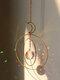 1 PC Sun Catcher Crystal Chandelier Ornament Aurora Wind Chimes with Prismatic Pendant Elegant Rainbow Maker Home Decor - #06