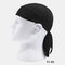 Quick-drying Turban Perspiration Breathable Sunscreen Outdoor Riding Pirate Hat - Black