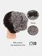 30 Colors Big Steel Fork Hair Ring Wig Updo Cover Fluffy Chemical Fiber Wig Piece - #24