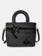 Women Cat Striped Handbag Crossbody Bag Shoulder Bag Satchel Bag - Black