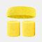 15 colori Soft Set di fascia per lo sport con fascia da polso per asciugamano Set di fascia per la fascia assorbente da sudore per sport sportivo - 1