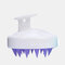 Hair Scalp Massager Shampoo Brush Head Scalp Massage Brush Remove Dandruff Promote Hair Growth Shampoo Brush - White