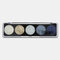 5 Colors Glitter Powder Sequin Eyeshadow Palette Pearlescent Makeup Glitter Pigment Smoky Eye Shadow - 1