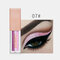 15 Colors Glitter Liquid Eyeshadow Portable Waterproof Lasting Pigmented Professional Eye Cosmetics - #07