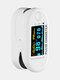 Finger-Clamp HD OLED Pulse Oximeter Finger Blood Oxygen Saturometro Heart De Oximeter Portable Pulse Oximetro Monitor - White