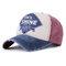 Ergebnis Gewaschene Baseballmütze aus feiner Baumwolle Atmungsaktiv Sun Hut Einstellbar