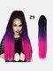 22 цвета цветная грязная коса Спираль длинная Волосы конский хвостик маленькая весна кудрявая Парик - #16