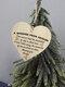 Placa de madeira para presente pendurada com chip de Natal de madeira Pingente Coração Decoração de garrafa de vinho em forma de etiquetas para casa - #07