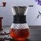 高温耐性ガラスコーヒーメーカーポットエスプレッソコーヒーマシン - 黒2