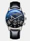 11 Colors Men Business Watch Leather Alloy Mesh Band Calendar Luminous Quartz Watch - #10