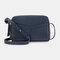 Women Multifunction 6 Card Slots Phone Bag Crossbody Bag Shoulder Bag - Blue