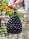 1 PC rétro en fonte hibou bougeoir à la main créatif décoration de la maison Restaurant bureau artisanat ornements - #02