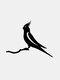 23-Types Metal Garden Tree Insert Decor Hummingbird Owl Simulation Animal Art Ornament - #23