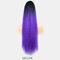 16 Colors Corn Hot Ponytail High Temperature Fiber Elastic Net Fluffy Breathable Ponytail - #11
