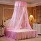 Techo Dome Toldo grande para cama con mosquitero Máxima protección contra insectos Sin irritación de la piel - Rosado